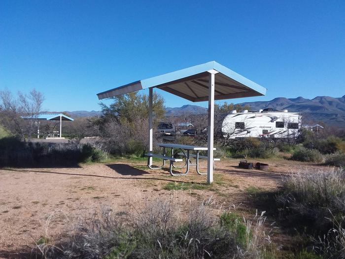 Campsite 59 at Cholla CampgroundCampsite 59, Cholla Campground