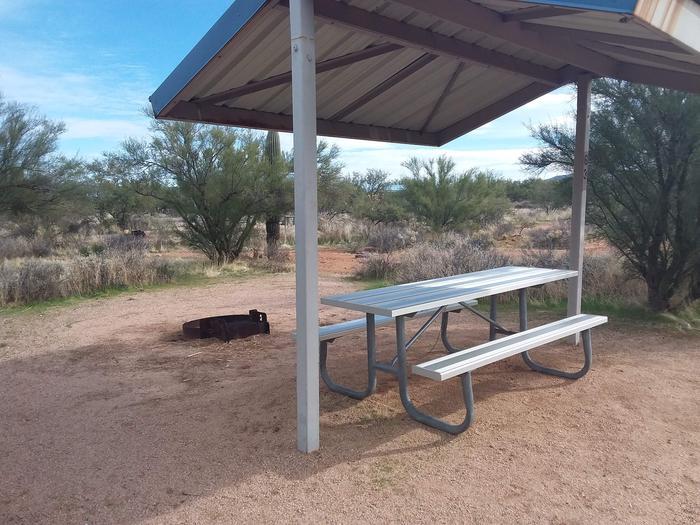 Campsite 63 at Cholla CampgroundCampsite 63, Cholla Campground