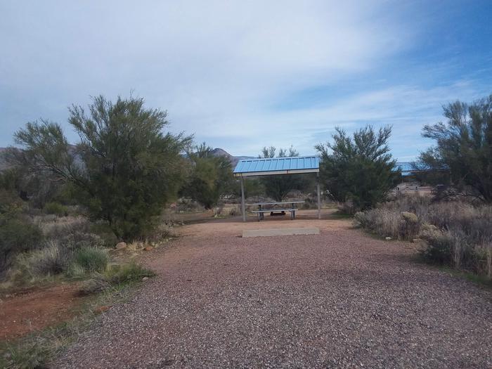 Site 63 parking area.