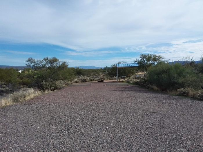 Site 73 parking.