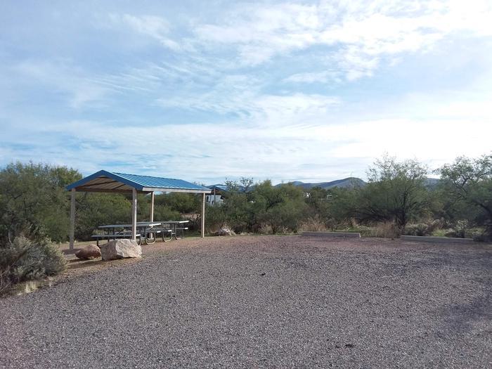 Site 85 parking area.
