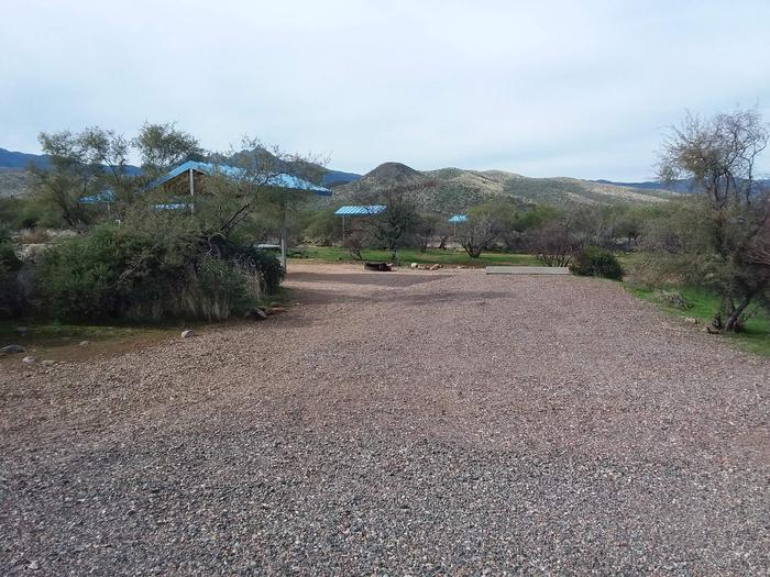 Site 168 parking