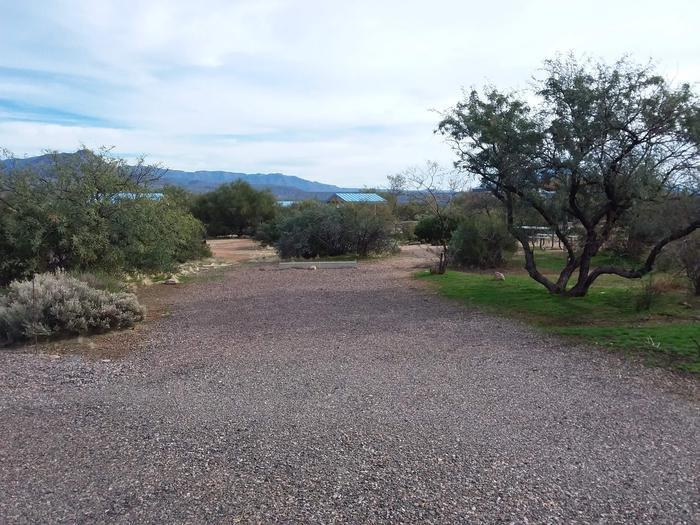 Site 182 parking