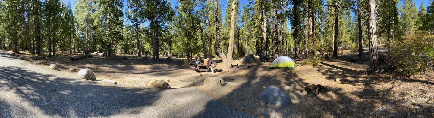French Meadows Campsite 2