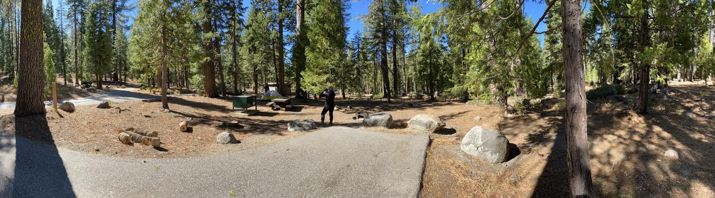 French Meadows Campsite 5