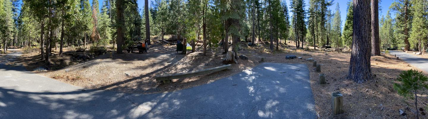 French Meadows Campsite 6