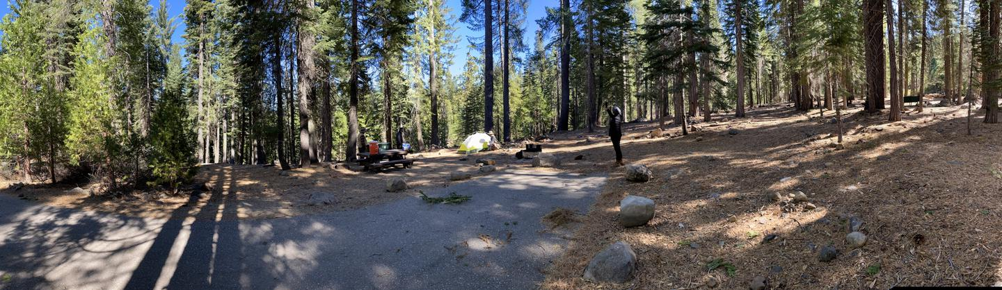 French Meadows Campsite 10