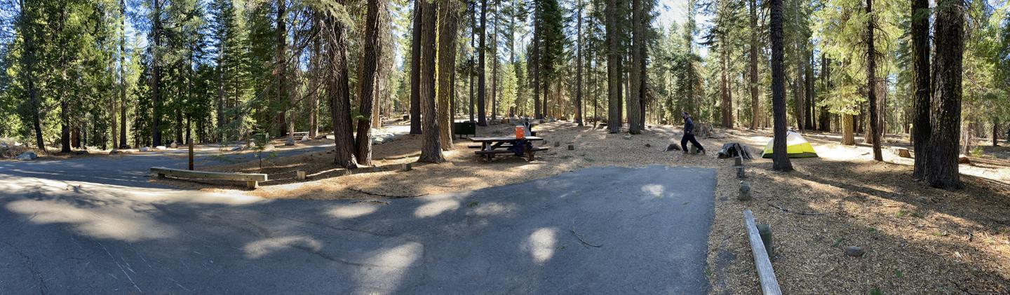 French Meadows Campsite 17
