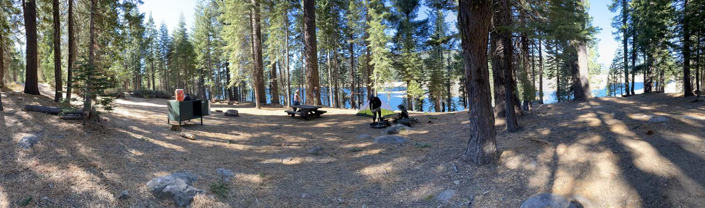 French Meadows Campsite 21