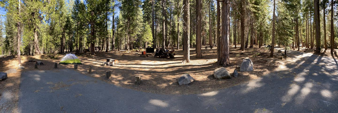 French Meadows Campsite 25
