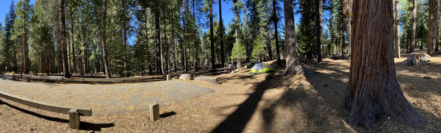 French Meadows Campsite 26