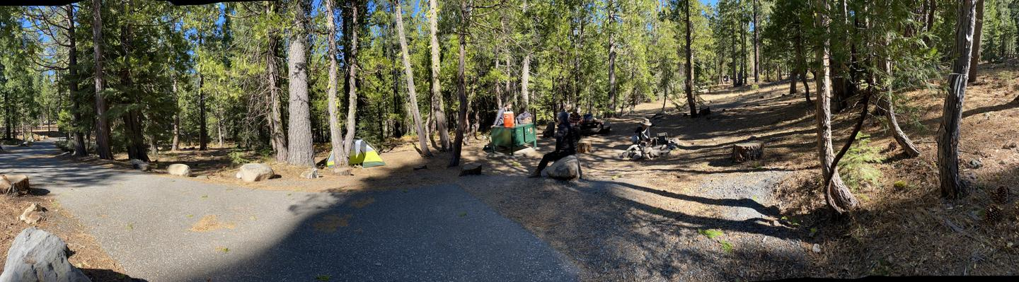 French Meadows Campsite 34