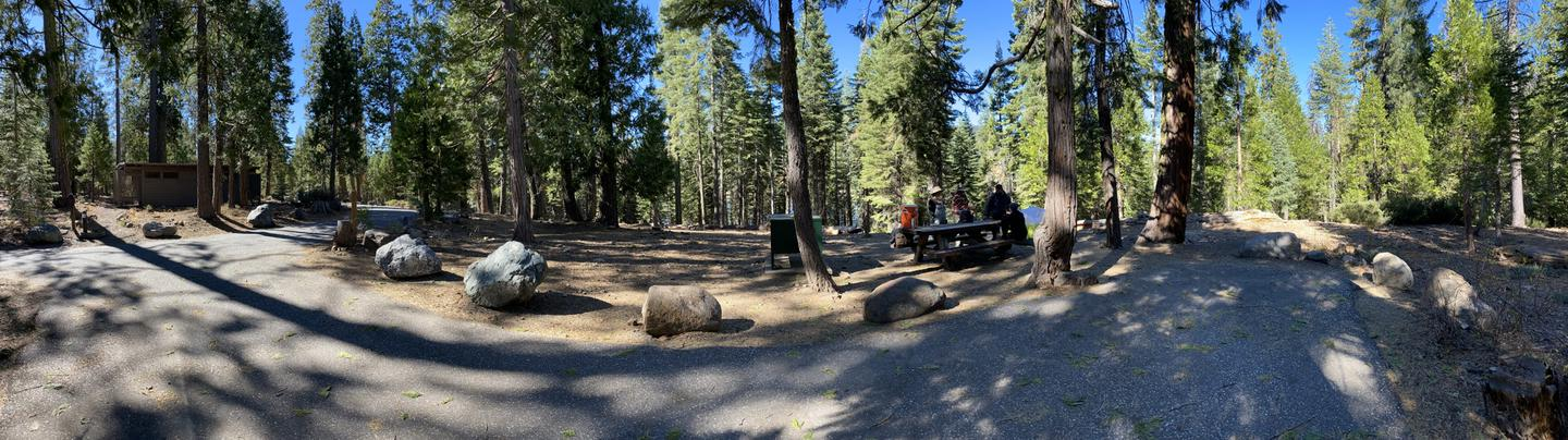French Meadows Campsite 36