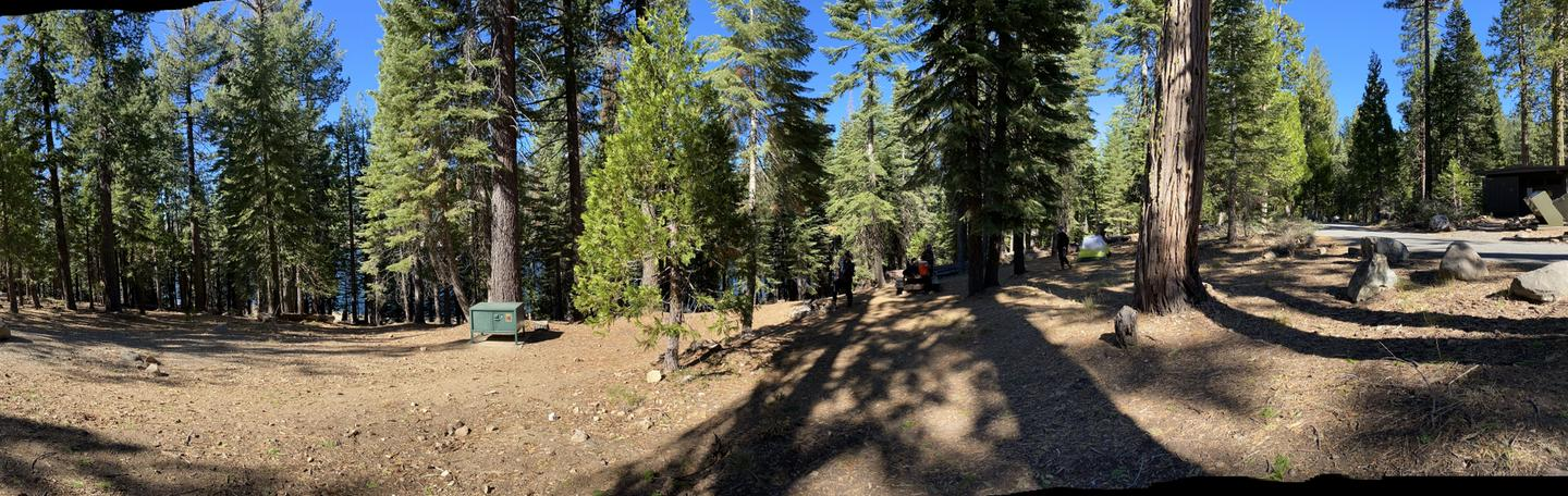 French Meadows Campsite 37
