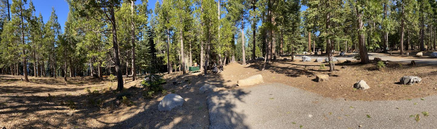 French Meadows Campsite 39