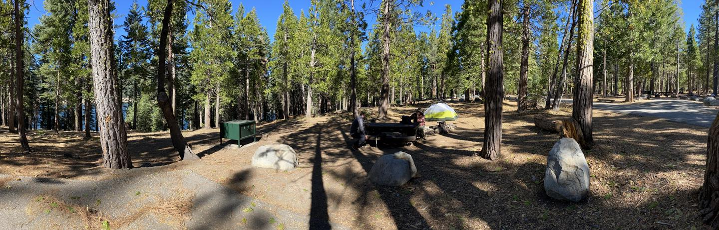 French Meadows Campsite 41