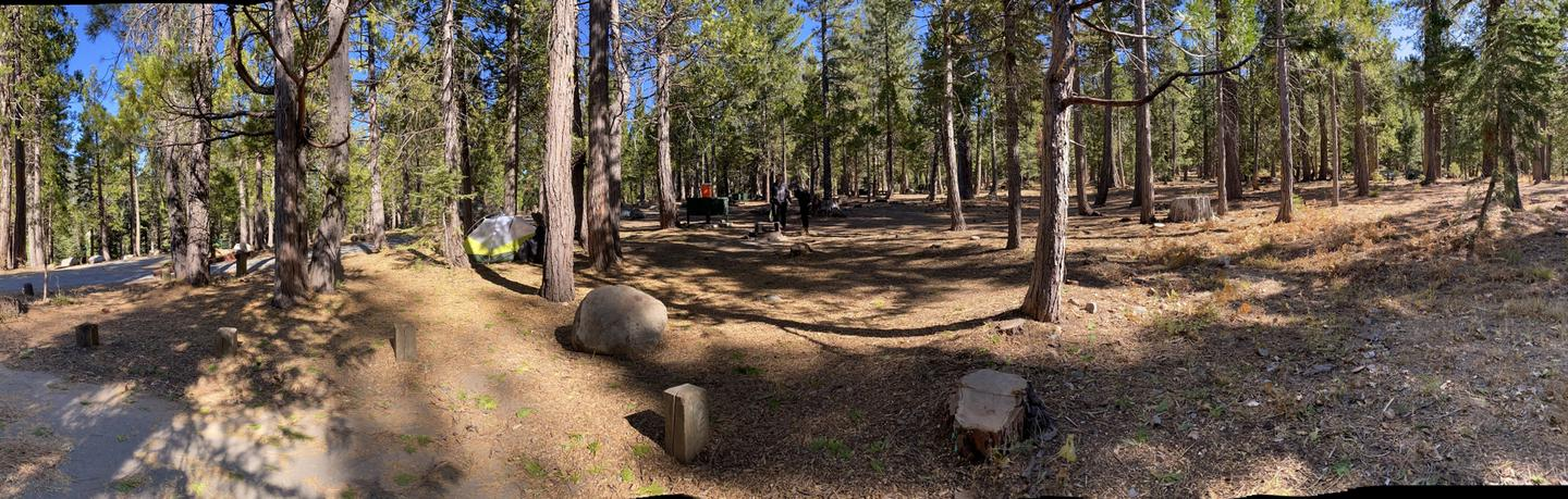 French Meadows Campsite 42