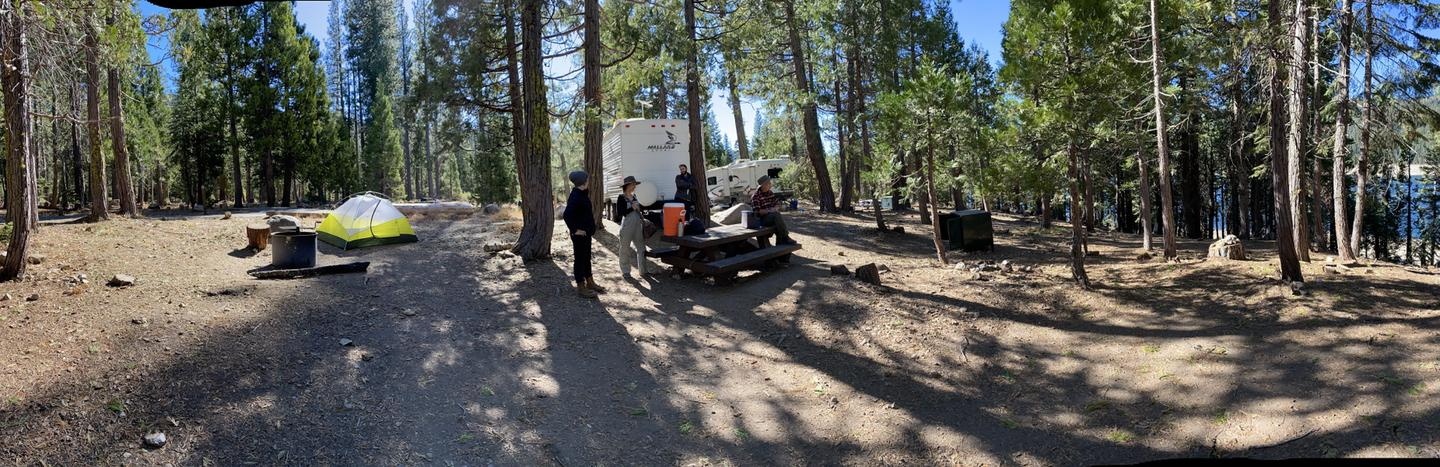 French Meadows Campsite 43