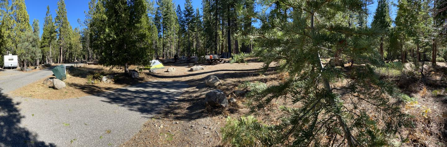 French Meadows Campsite 44