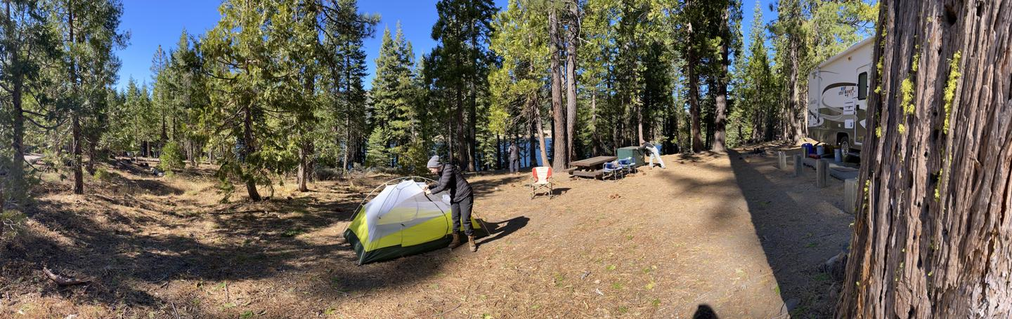 French Meadows Campsite 45