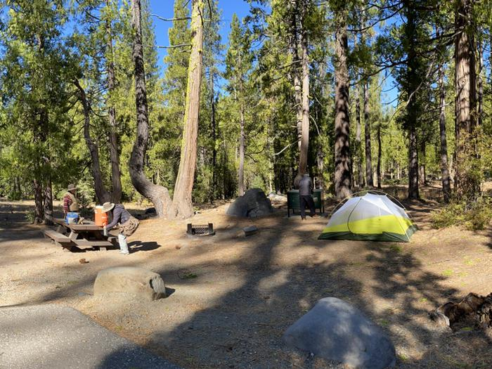 French Meadows CampgroundCampsite 2
