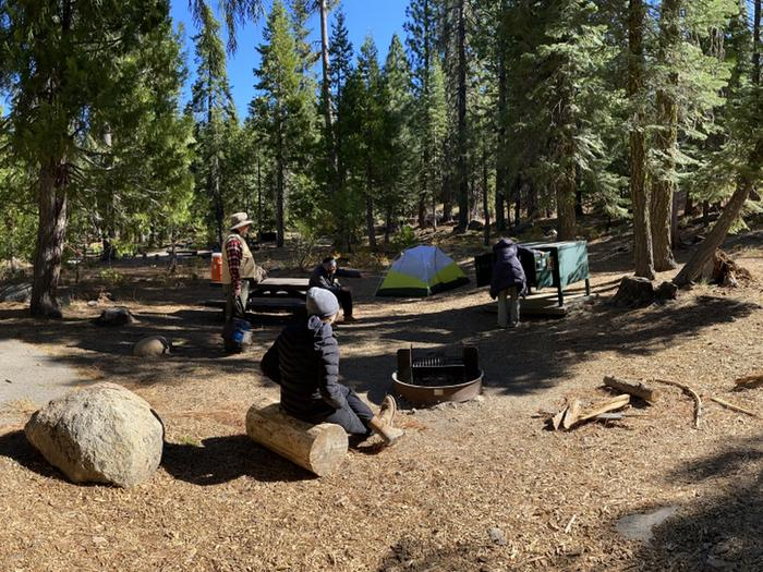 French Meadows Campground Campsite 4