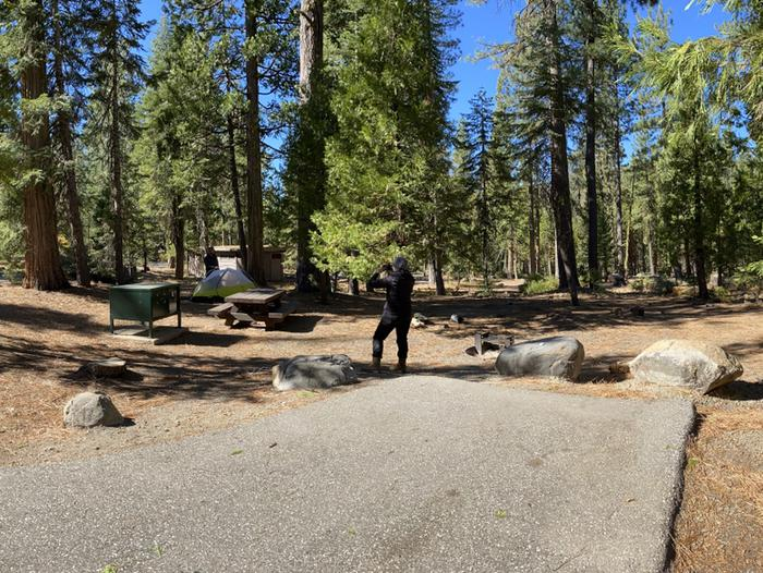 French Meadows Campground Campsite 5