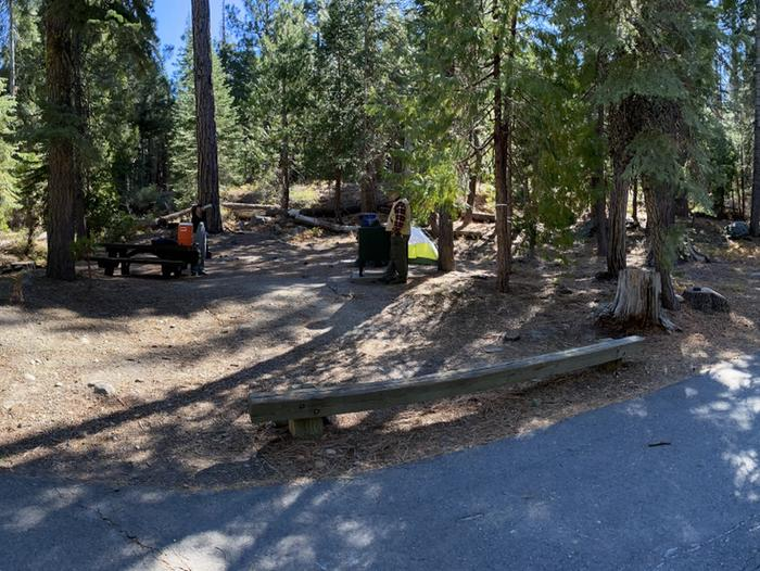 French Meadows CampgroundCampsite 6