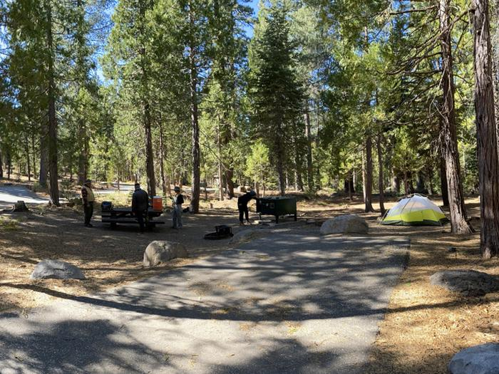 French Meadows Campground Campsite 7