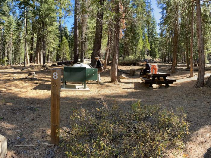 French Meadows Campground Campsite 8