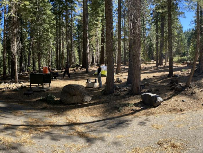 French Meadows Campground Campsite 9