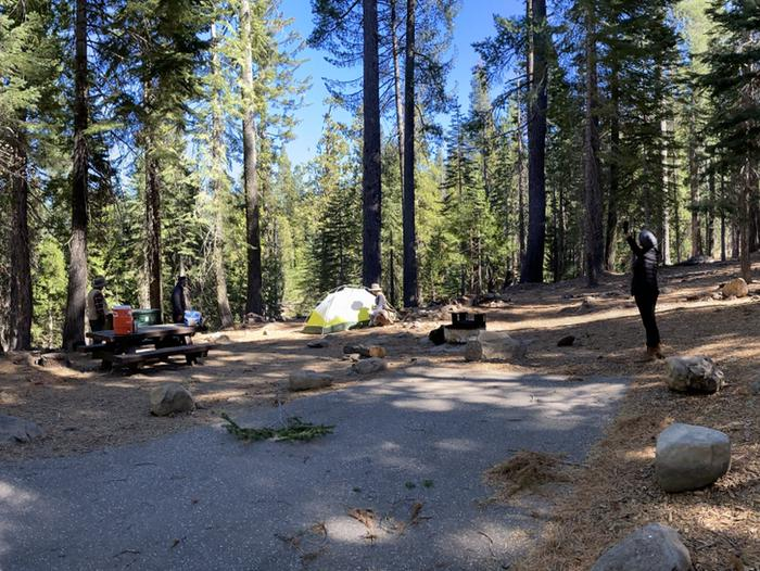 French Meadows Campground Campsite 10