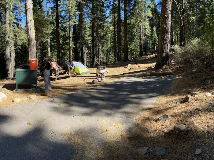 French Meadows Campground Campsite 11
