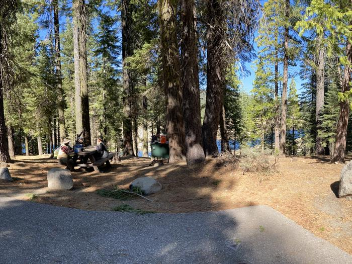 French Meadows Campground Campsite 19