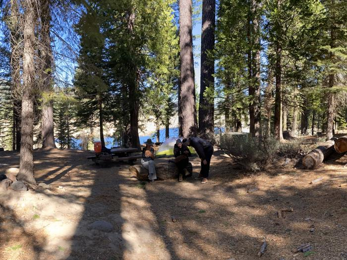 French Meadows Campground Campsite 20