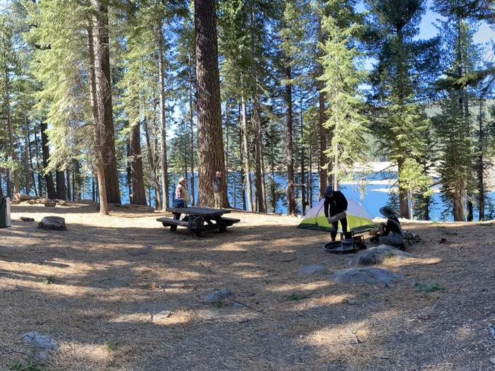 French Meadows Campground Campsite 21