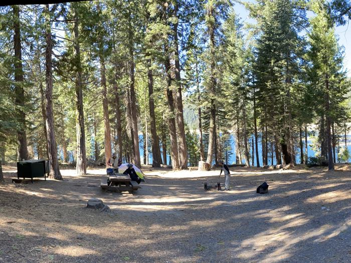 French Meadows Campground Campsite 22