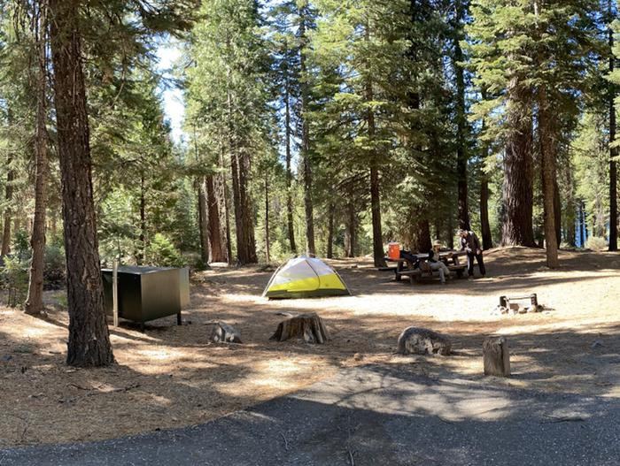 French Meadows Campground Campsite 23