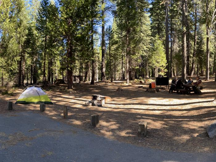 French Meadows Campground Campsite 25