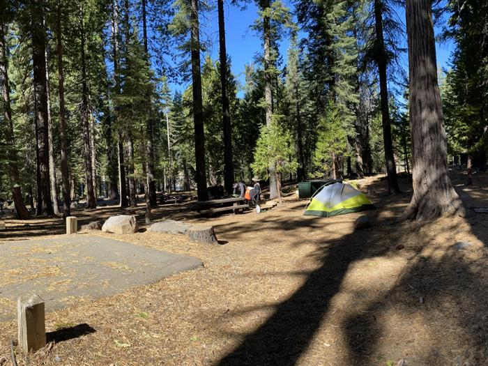 French Meadows Campground Campsite 26
