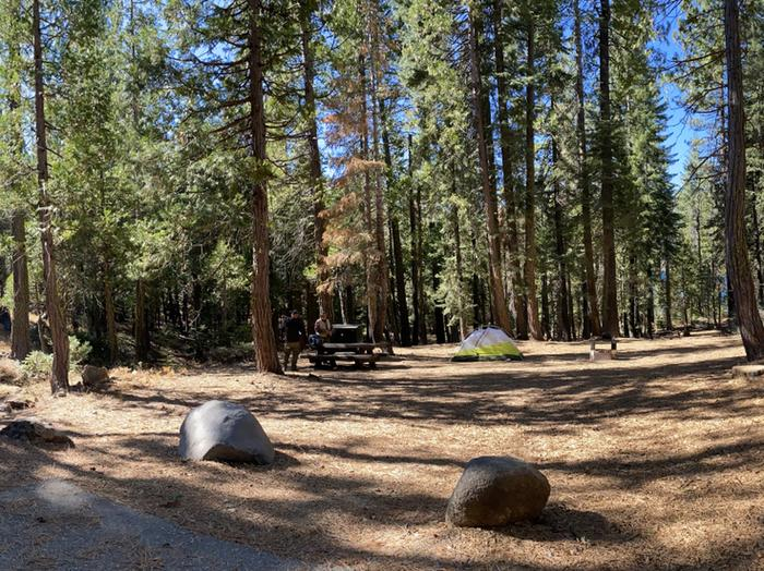 French Meadows Campground Campsite 27
