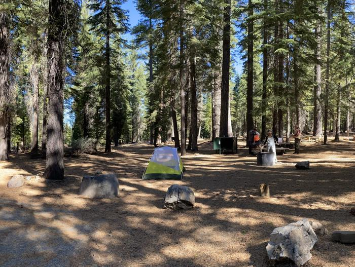 French Meadows Campground Campsite 28