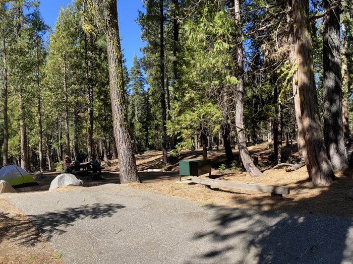 French Meadows Campground Campsite 29