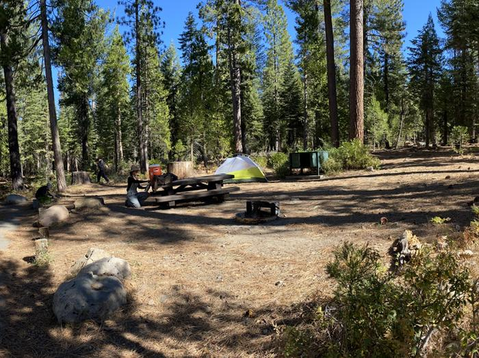French Meadows Campground Campsite 30