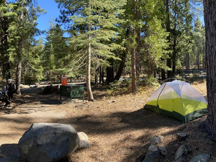 French Meadows Campground Campsite 33