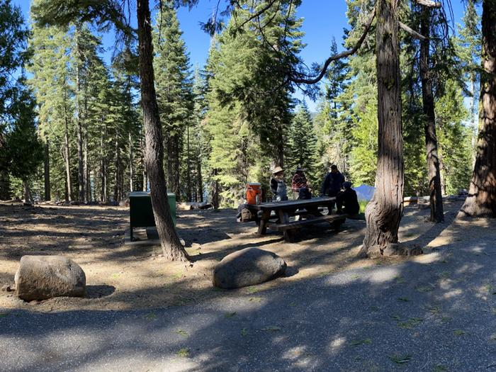 French Meadows Campground Campsite 36