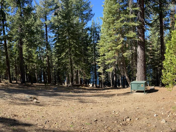 French Meadows Campground Campsite 37