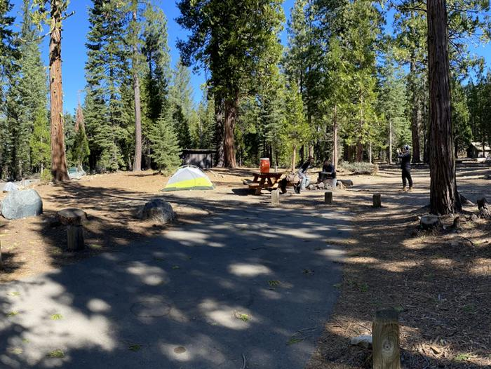 French Meadows Campground Campsite 38