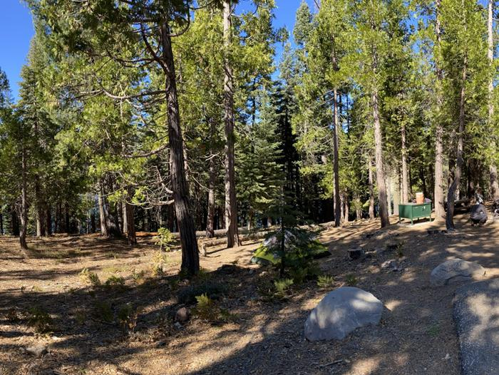 French Meadows Campground Campsite 39