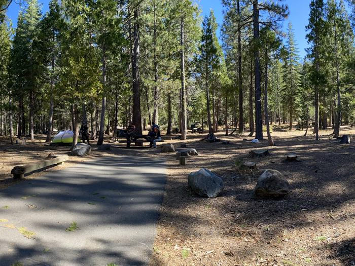 French Meadows Campground Campsite 40
